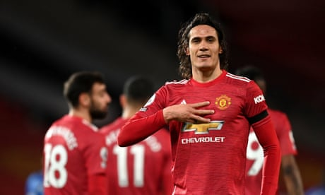 'Proud to wear this shirt': Cavani dispels father's talk of Manchester United exit