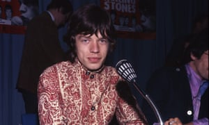 Mick Jagger of the Rolling Stones in 1967