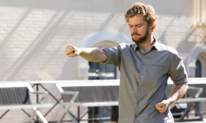 Like a barefoot gap-year student … Finn Jones as Danny Rand in Iron Fist.