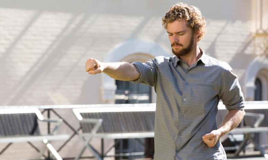Like a barefoot gap-year student … Finn Jones as Danny Rand in Iron Fist.