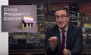John Oliver: 'The fact is if you want fewer abortions, you should love birth control.'