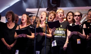 The Commoners Choir in Manchester.