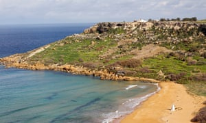 View from Calypso's Cave, Gozo.