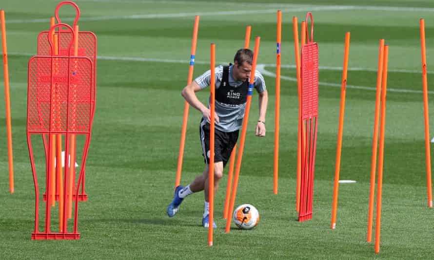 Jamie Vardy training
