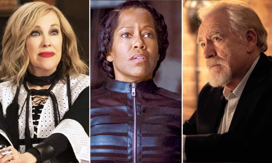 Catherine O'Hara in Schitt's Creek, Regina King in Watchmen and Brian Cox in Succession. Who'll come out on top?