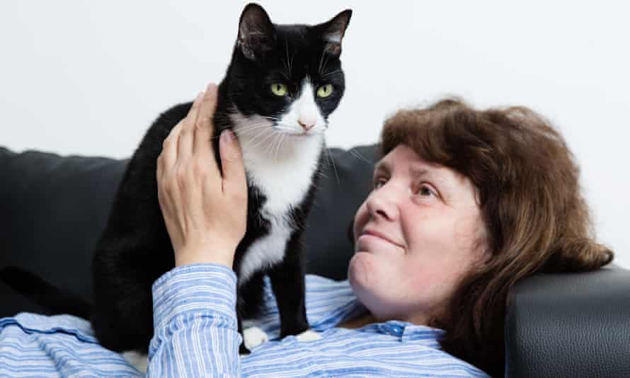 Grenfell Tower survivor Kerry O'Hara was reunited with her cat Rosey two months after the fire.