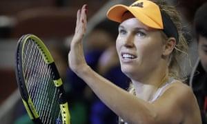 Caroline Wozniacki announced plans to wave goodbye to tennis on Friday.