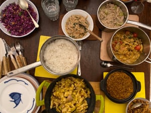 Felicity Cloake's turkey curry-thon.