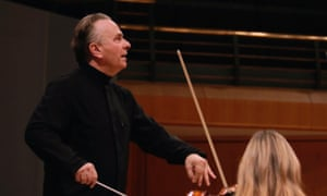 Mark Elder and the Hallé orchestra