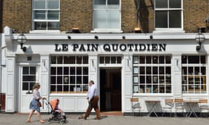 Le Pain Quotidien, Highgate, London.