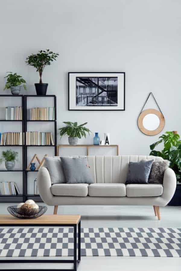 Light furniture legs can help light lower down.