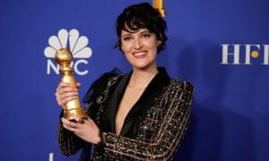 Phoebe Waller-Bridge at the Golden Globes award ceremony