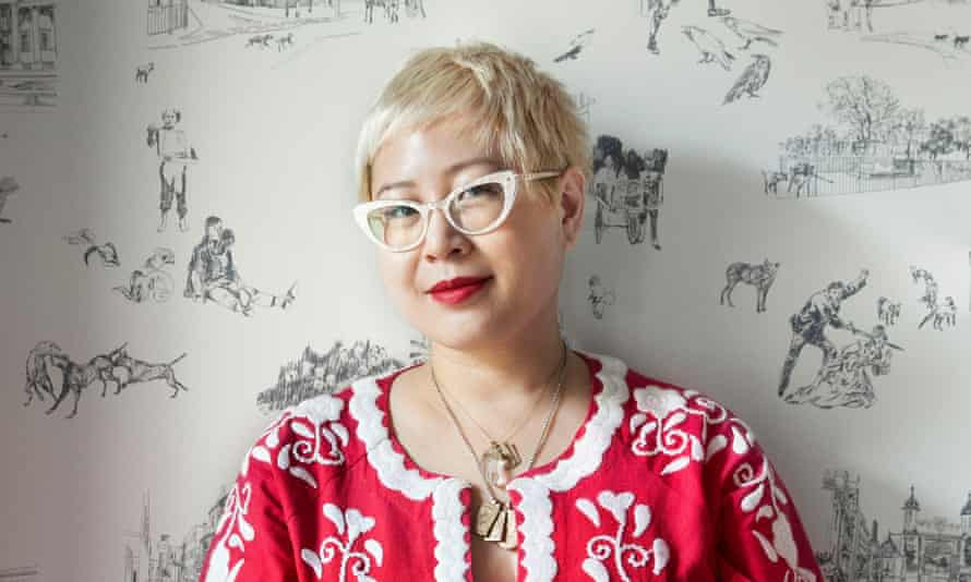 Esmé Weijun Wang photographed in central London for Observer New Review