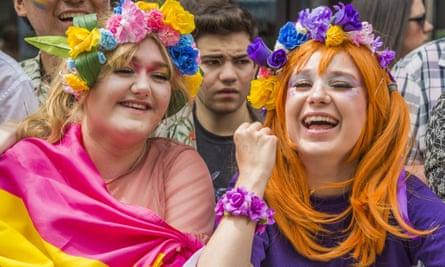 Crowds enjoy Pride