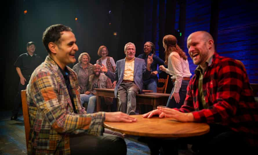 The Australian cast of Come from Away