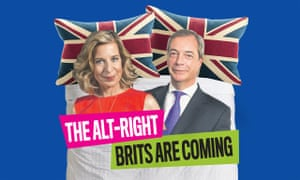 Katy Hopkins and Nigel Farage in bed