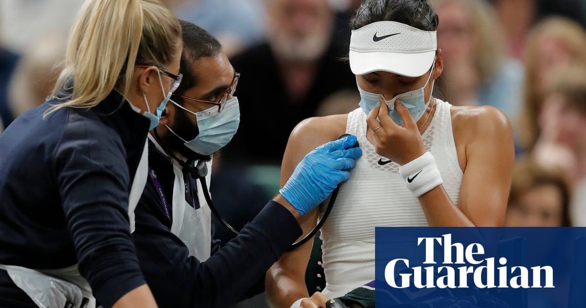 'Experience caught up with me' says Raducanu after Wimbledon withdrawal