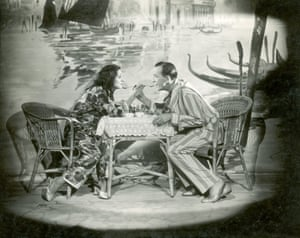Gertrude Lawrence And Noel Coward in London Calling 1923