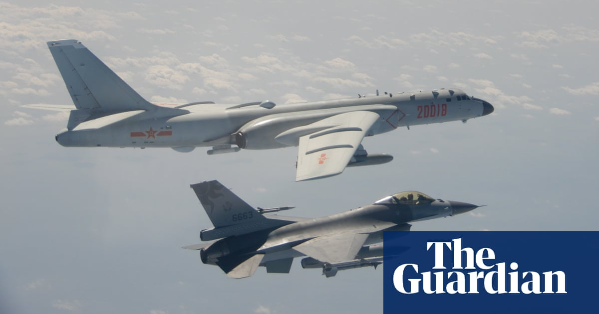 Taiwan reports largest ever incursion as 38 Chinese planes fly over air space