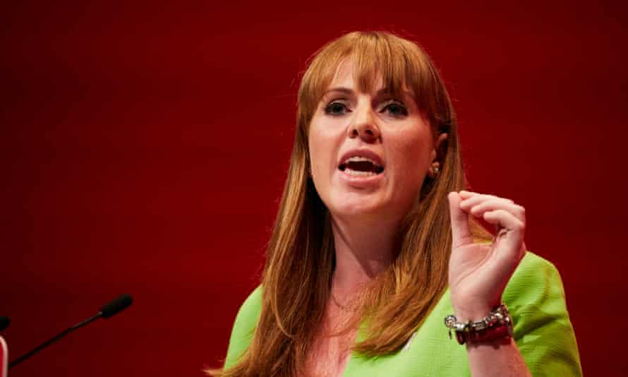 'Having left school at 16, pregnant with no qualifications, Angela Rayner is now shadow education secretary.'