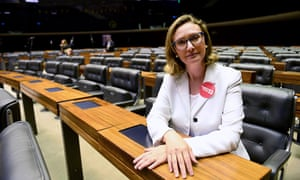 Maria do Rosário, 52, was recently re-elected to her fifth term in Brazil's congress.