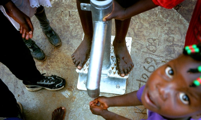 How do you solve a problem like a broken water pump