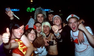 Stag party group