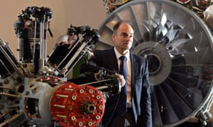 Warren East, the CEO of Rolls-Royce, has plenty to keep him busy without the 'distraction' of Brexit.