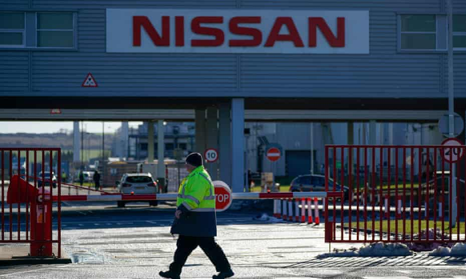 """Nissan's Sunderland plant. 'Ministers were desperate to say anything to secure a single day's headlines about """"a vote of confidence"""" in Britain.'"""