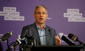Victoria's chief health officer Brett Sutton at a daily media briefing in Melbourne
