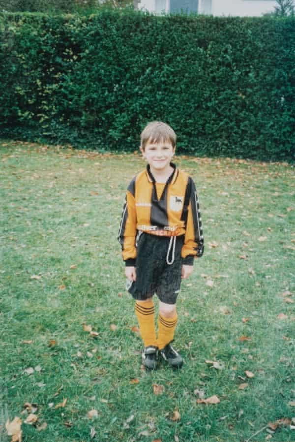 Josh Jones as a child