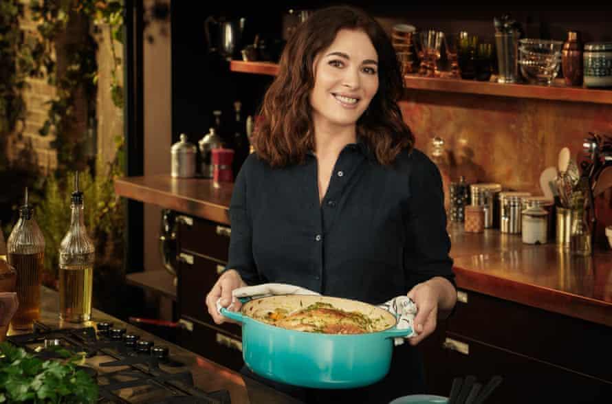Nigella Lawson on Cook, Eat, Repeat.