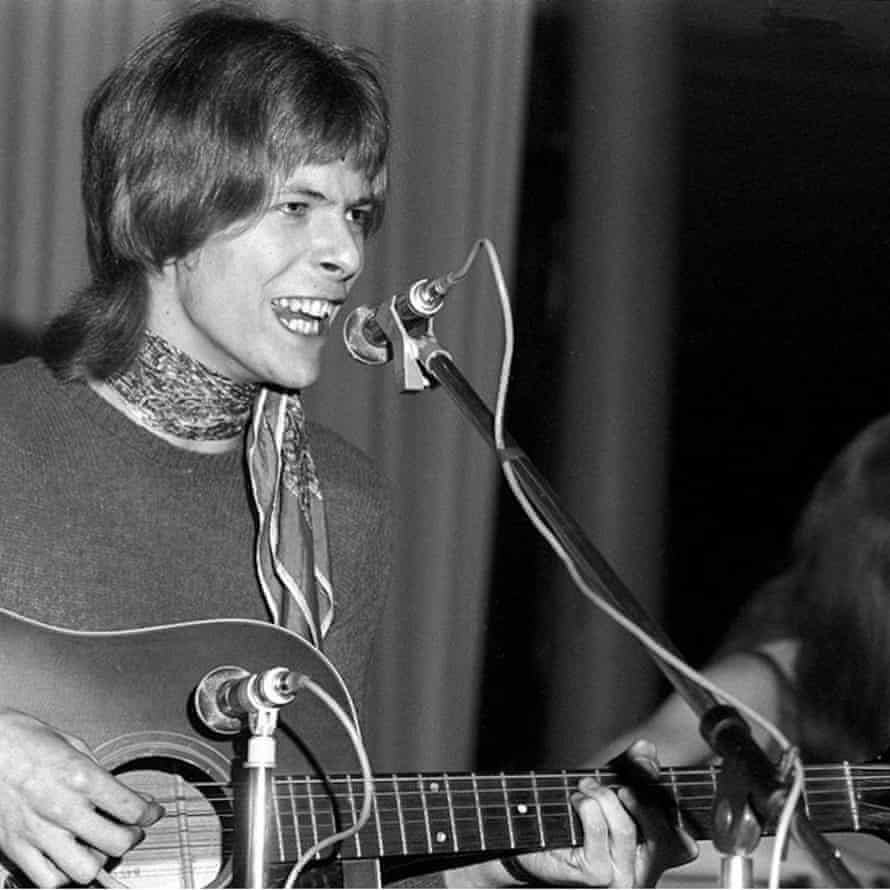 David Bowie at the Wigmore Hall in 1968