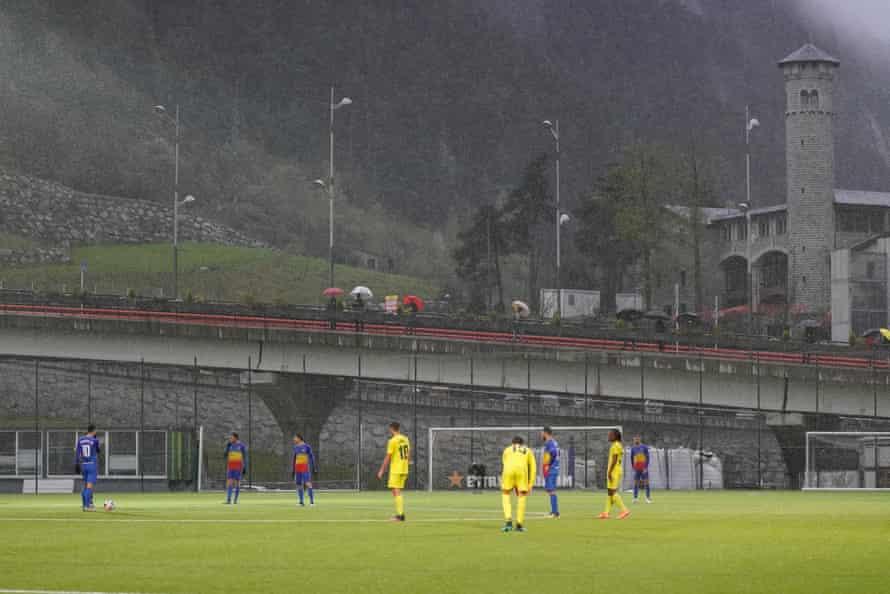 FC Andorra منتظر شروع شدن است.