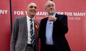 Jeremy Corbyn with Chris Williamson
