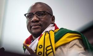 Zimbabwean pastor Evan Mawarire