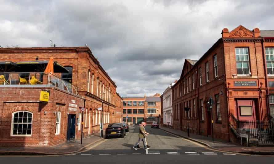 The Jewellery Quarter of Birmingham.