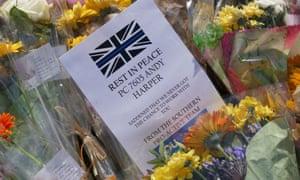 Flowers for PC Andrew Harper