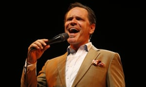 Heading for Ronnie's … jazz singer Kurt Elling.