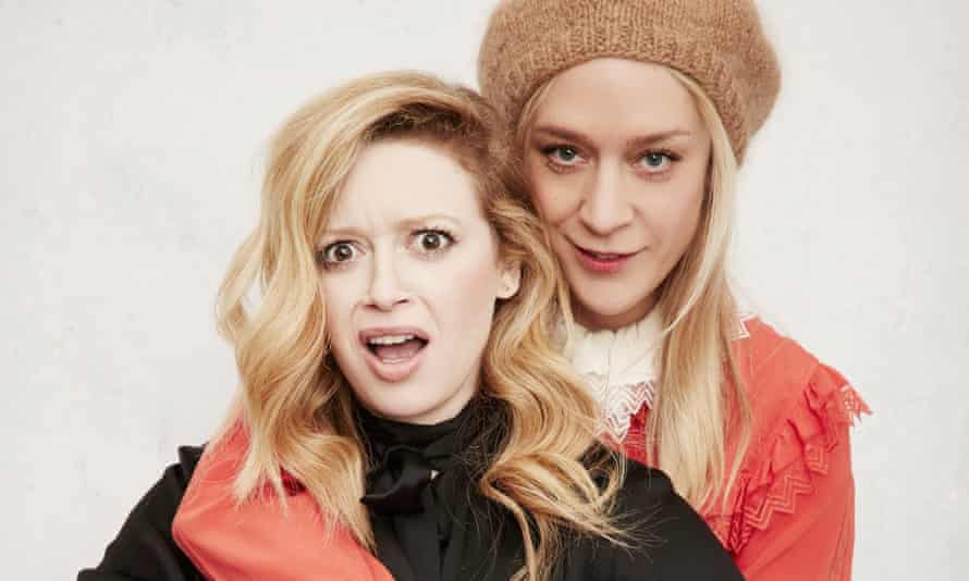 'I'm a letter of hope for weirdos who are having a hard time in high school': with best friend Chloë Sevigny.