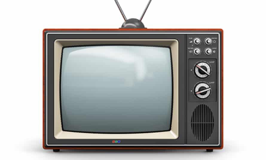 Old TV set.