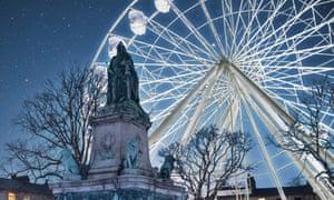 lancaster big wheel and queen victoria