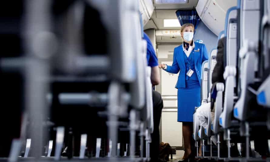 Airline crews have been managing more disruptive behavior than usual since the pandemic restrictions have eased.