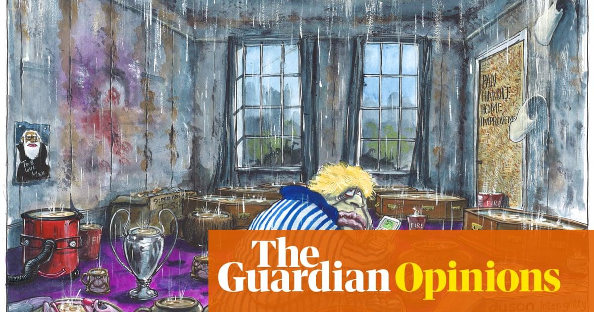 Martin Rowson on Boris Johnson and Downing Street leaks – cartoon