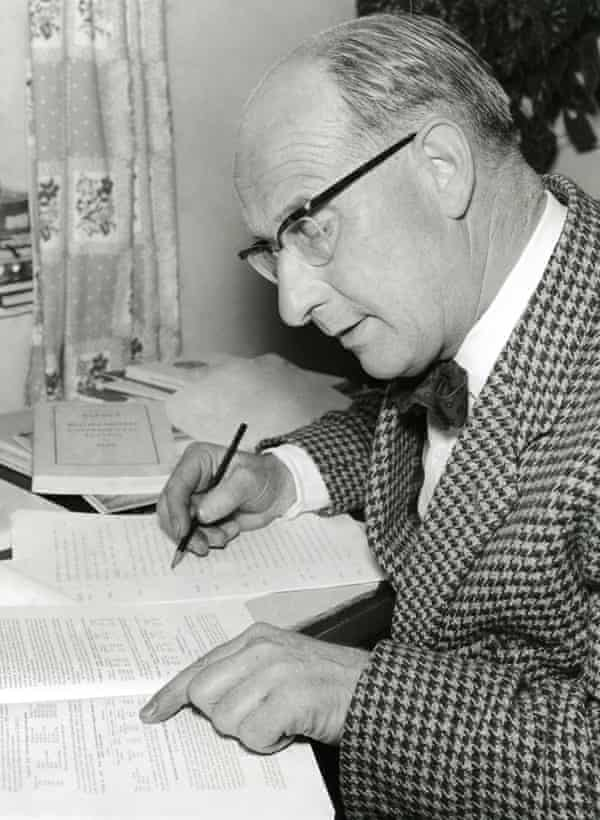 Godfrey Baseley, the creator of The Archers, in 1960.