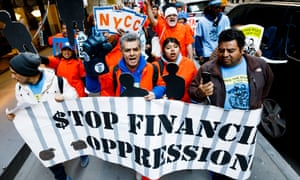 International Workers' day in New York, 1 May 2108.