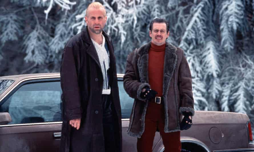 Peter Stormare and Steve Buscemi as the kidnappers.