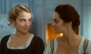 The art of looking .. Adèle Haenel and Noémie Merlant in Portrait of a Lady on Fire.