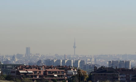 About 3,000 people die prematurely in Madrid every year due to pollution.