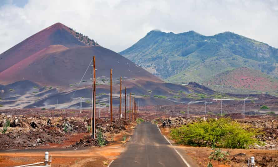 Ascension Island photographed in 2013. It is part of the British Overseas Territory of St Helena, Ascension and Tristan da Cunha.